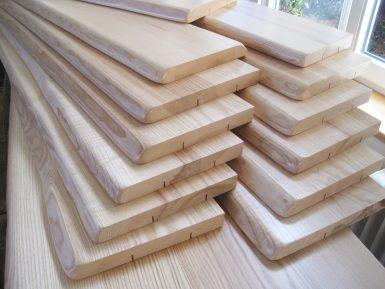 Holzfensterbänke und Massivholzplatten